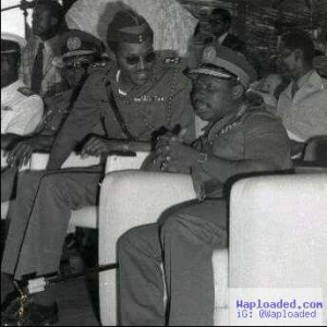 Checkout Photo Of President Buhari And Obasanjo When They Were Quite Young